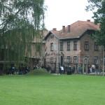 Ingang van Auschwitz