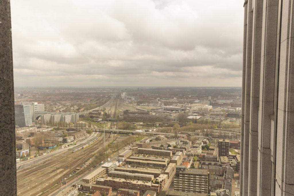 Uitzicht A12 en Beatrixpark