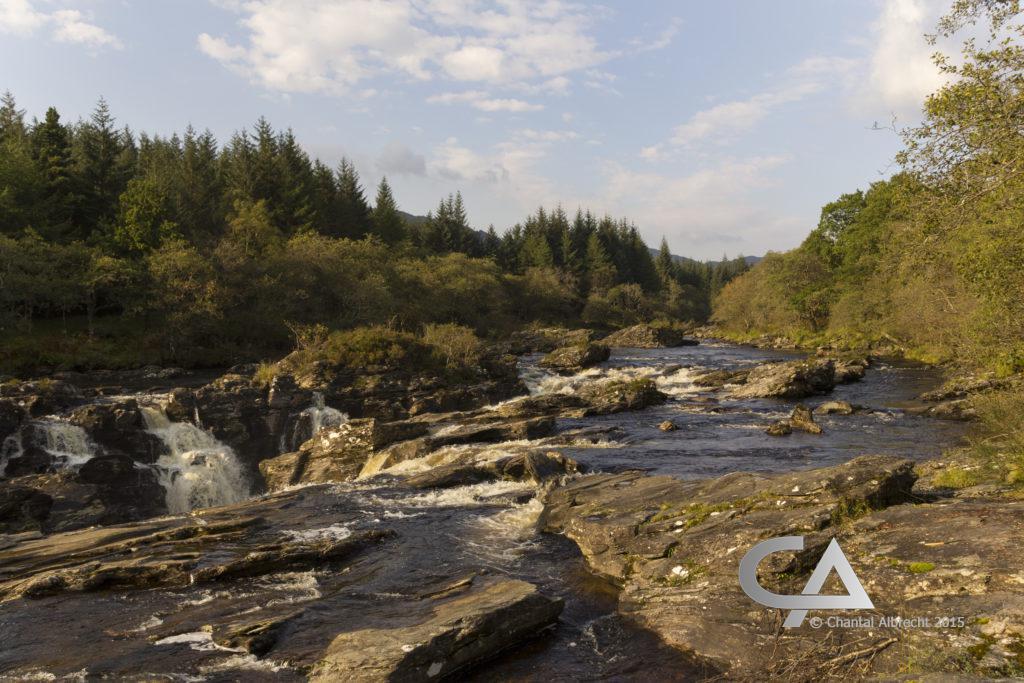 Eas Urchaidh falls, Glen Orchy